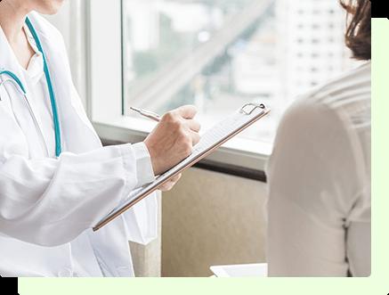当院は、エビデンスを重視し、患者様の価値観や希望を大切にする医療を目指します。